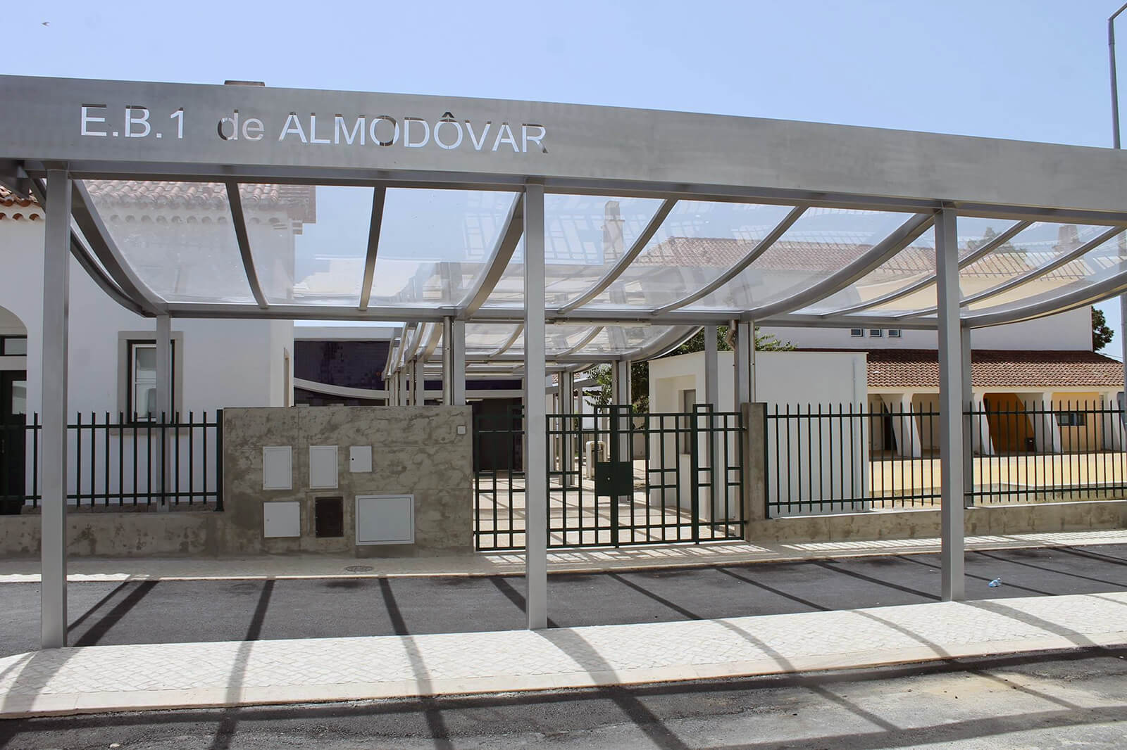 Requalificação do recinto da EB1 De Almodôvar