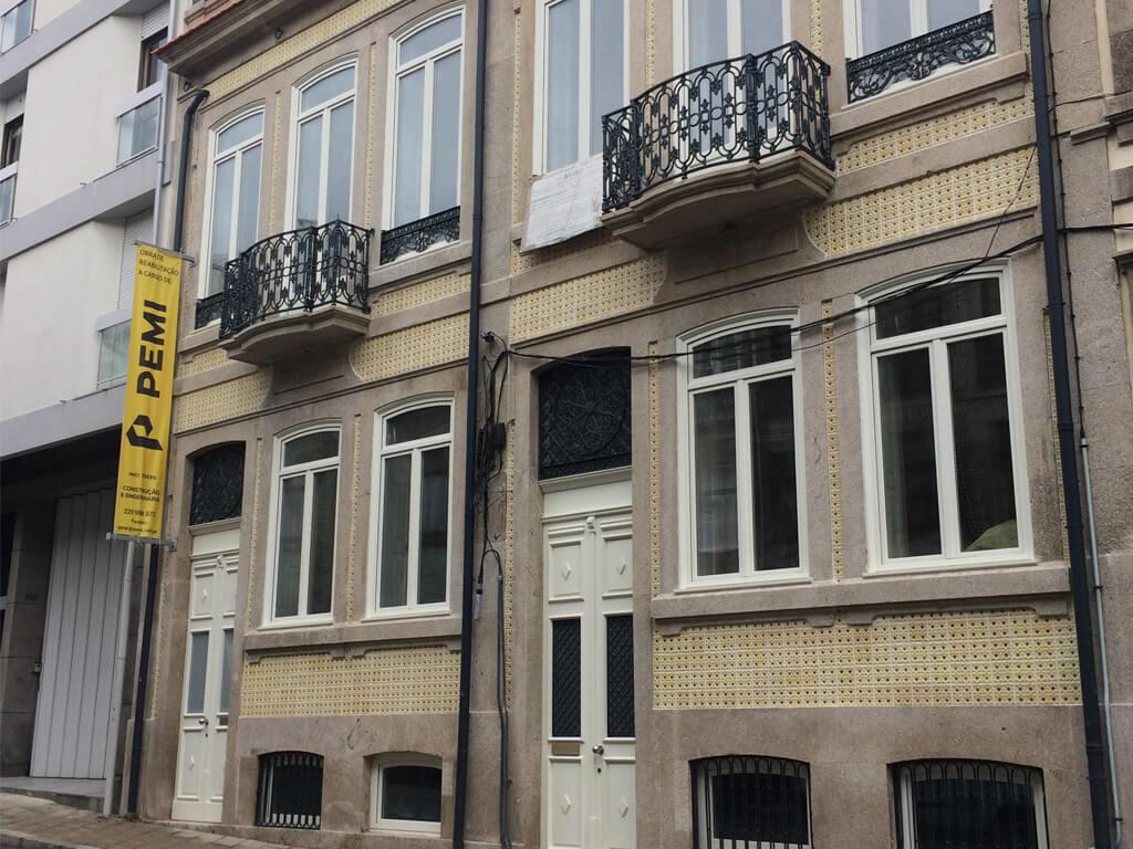 Reabilitação de Edifício na Rua D. João IV