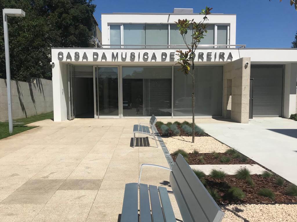 Construção da Casa da Música de Moreira